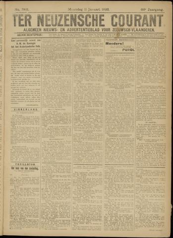 Ter Neuzensche Courant. Algemeen Nieuws- en Advertentieblad voor Zeeuwsch-Vlaanderen / Neuzensche Courant ... (idem) / (Algemeen) nieuws en advertentieblad voor Zeeuwsch-Vlaanderen 1926-01-11