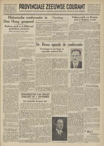Provinciale Zeeuwse Courant 1949-08-24