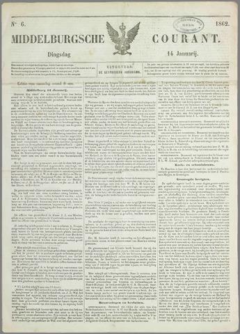 Middelburgsche Courant 1862-01-14