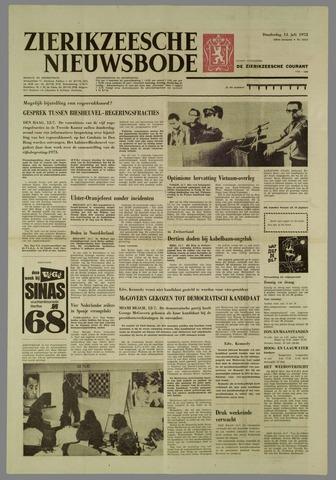 Zierikzeesche Nieuwsbode 1972-07-13