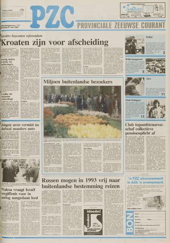 Provinciale Zeeuwse Courant 1991-05-21