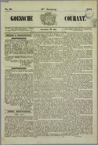 Goessche Courant 1854-05-15