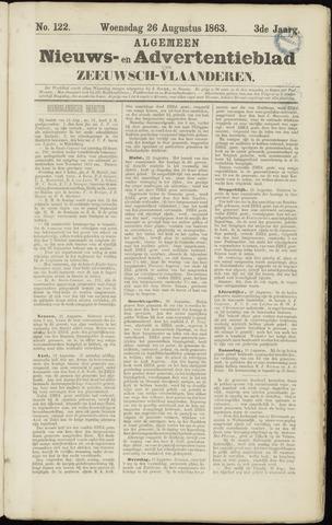 Ter Neuzensche Courant. Algemeen Nieuws- en Advertentieblad voor Zeeuwsch-Vlaanderen / Neuzensche Courant ... (idem) / (Algemeen) nieuws en advertentieblad voor Zeeuwsch-Vlaanderen 1863-08-26