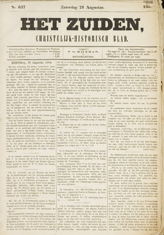 Het Zuiden, Christelijk-historisch blad 1880-08-21