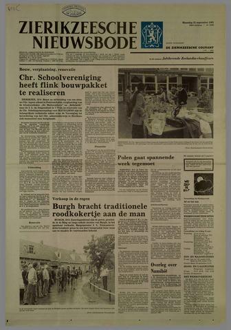 Zierikzeesche Nieuwsbode 1981-09-21
