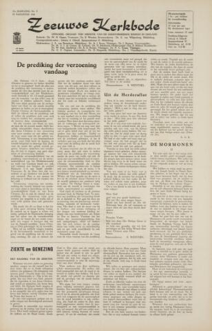 Zeeuwsche kerkbode, weekblad gewijd aan de belangen der gereformeerde kerken/ Zeeuwsch kerkblad 1966-08-19