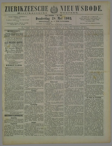 Zierikzeesche Nieuwsbode 1903-05-28