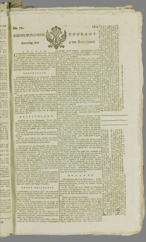 Middelburgsche Courant 1810-06-09