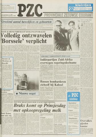 Provinciale Zeeuwse Courant 1984-08-29
