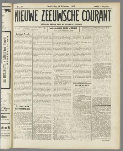 Nieuwe Zeeuwsche Courant 1907-02-21
