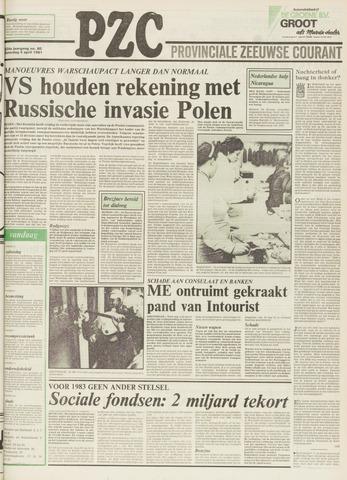 Provinciale Zeeuwse Courant 1981-04-04