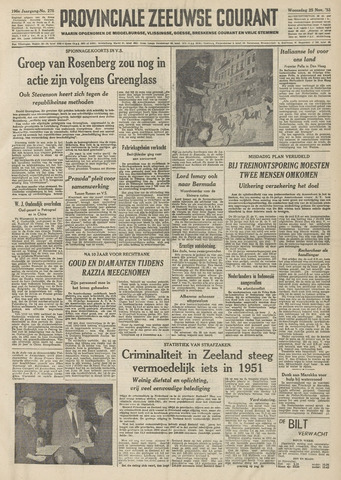 Provinciale Zeeuwse Courant 1953-11-25