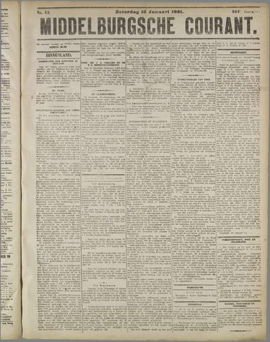 Middelburgsche Courant 1921-01-15