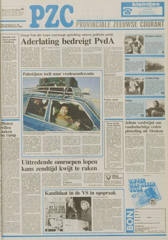 Provinciale Zeeuwse Courant 1992-01-28