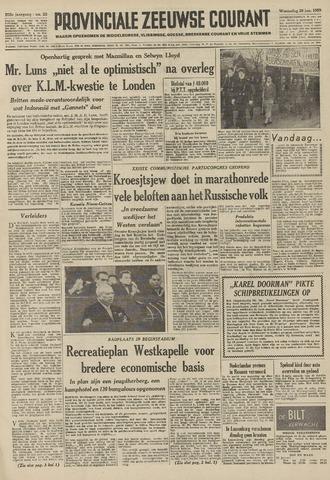 Provinciale Zeeuwse Courant 1959-01-28