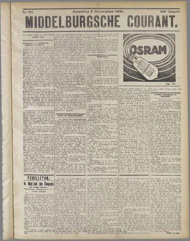 Middelburgsche Courant 1921-11-05