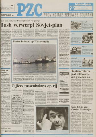 Provinciale Zeeuwse Courant 1991-02-20