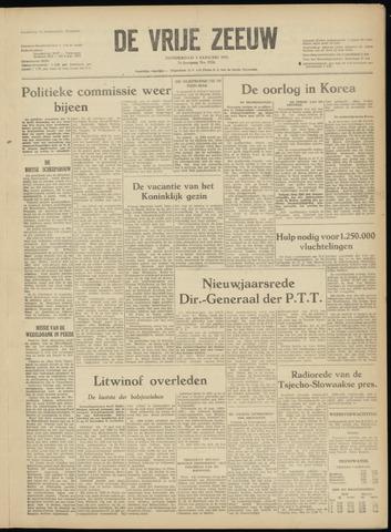 de Vrije Zeeuw 1952-01-03