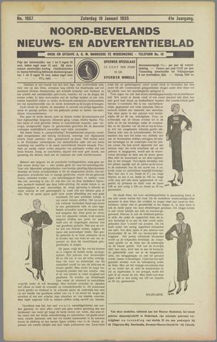 Noord-Bevelands Nieuws- en advertentieblad 1935-01-19