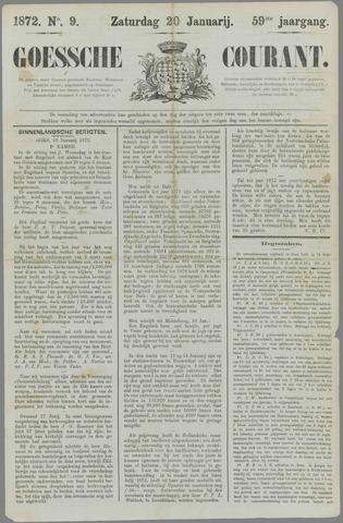 Goessche Courant 1872-01-20