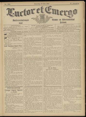 Luctor et Emergo. Antirevolutionair nieuws- en advertentieblad voor Zeeland / Zeeuwsch-Vlaanderen. Orgaan ter verspreiding van de christelijke beginselen in Zeeuwsch-Vlaanderen 1913-05-10