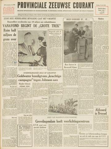 Provinciale Zeeuwse Courant 1964-07-17