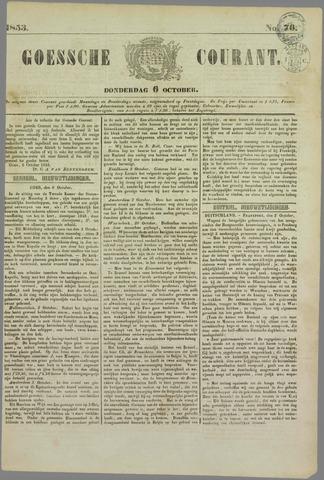 Goessche Courant 1853-10-06