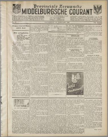 Middelburgsche Courant 1930-01-25