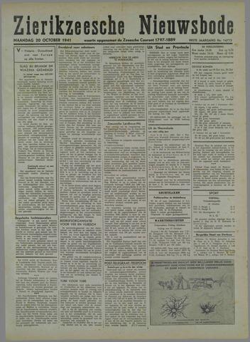 Zierikzeesche Nieuwsbode 1941-10-07