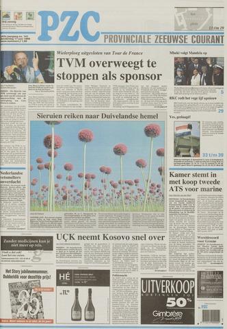 Provinciale Zeeuwse Courant 1999-06-17