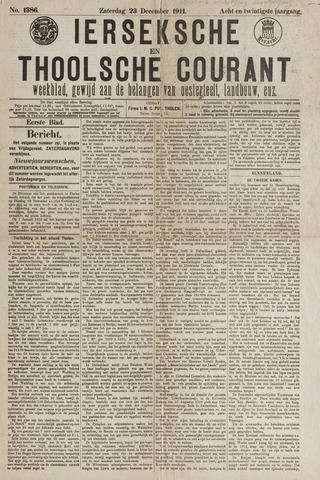 Ierseksche en Thoolsche Courant 1911-12-23