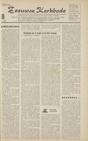 Zeeuwsche kerkbode, weekblad gewijd aan de belangen der gereformeerde kerken/ Zeeuwsch kerkblad 1963-01-18