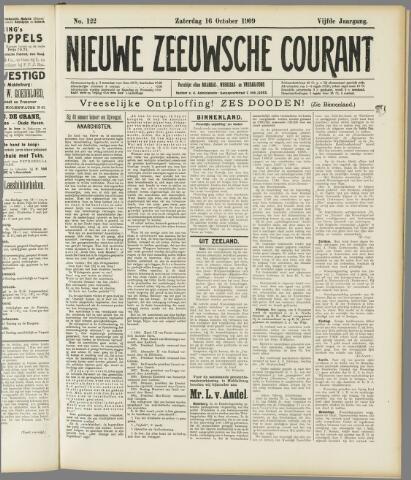 Nieuwe Zeeuwsche Courant 1909-10-16