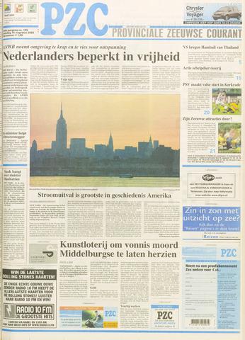 Provinciale Zeeuwse Courant 2003-08-16