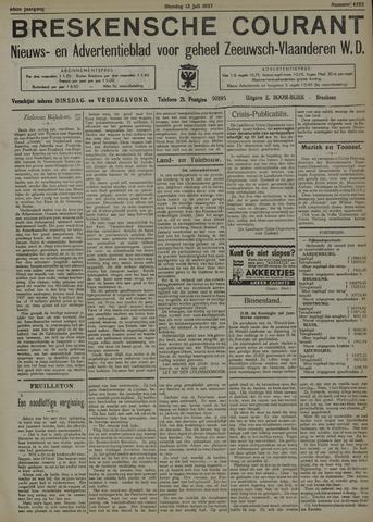 Breskensche Courant 1937-07-13