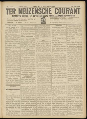 Ter Neuzensche Courant. Algemeen Nieuws- en Advertentieblad voor Zeeuwsch-Vlaanderen / Neuzensche Courant ... (idem) / (Algemeen) nieuws en advertentieblad voor Zeeuwsch-Vlaanderen 1938-11-14