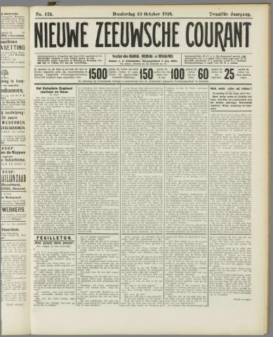 Nieuwe Zeeuwsche Courant 1916-10-19