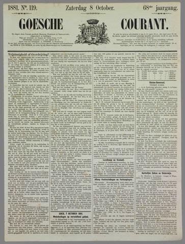 Goessche Courant 1881-10-08