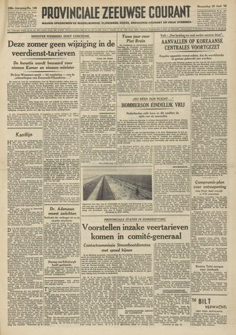Provinciale Zeeuwse Courant 1952-06-25