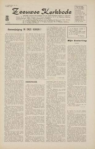 Zeeuwsche kerkbode, weekblad gewijd aan de belangen der gereformeerde kerken/ Zeeuwsch kerkblad 1965-04-09