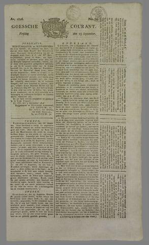 Goessche Courant 1826-09-15