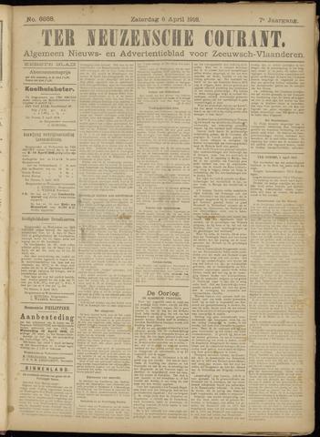 Ter Neuzensche Courant. Algemeen Nieuws- en Advertentieblad voor Zeeuwsch-Vlaanderen / Neuzensche Courant ... (idem) / (Algemeen) nieuws en advertentieblad voor Zeeuwsch-Vlaanderen 1918-04-06