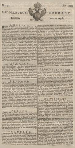 Middelburgsche Courant 1768-04-30