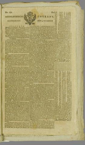 Middelburgsche Courant 1806-12-04