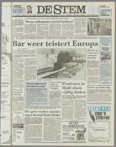 de Stem 1986-02-03