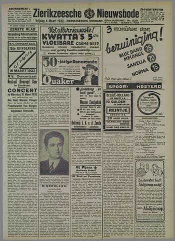 Zierikzeesche Nieuwsbode 1932-03-04