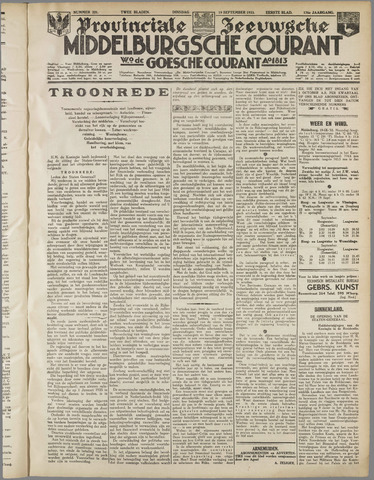 Middelburgsche Courant 1933-09-19