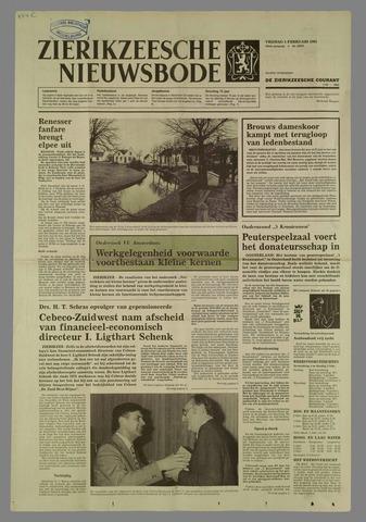 Zierikzeesche Nieuwsbode 1985-02-01