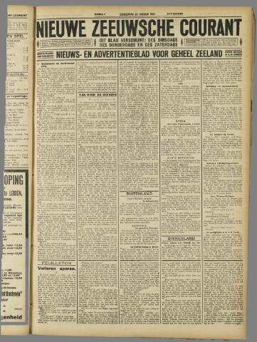 Nieuwe Zeeuwsche Courant 1927-01-20