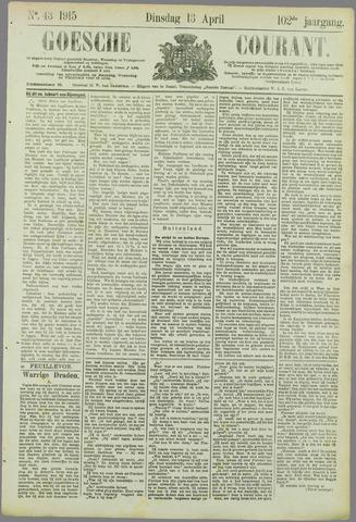 Goessche Courant 1915-04-13